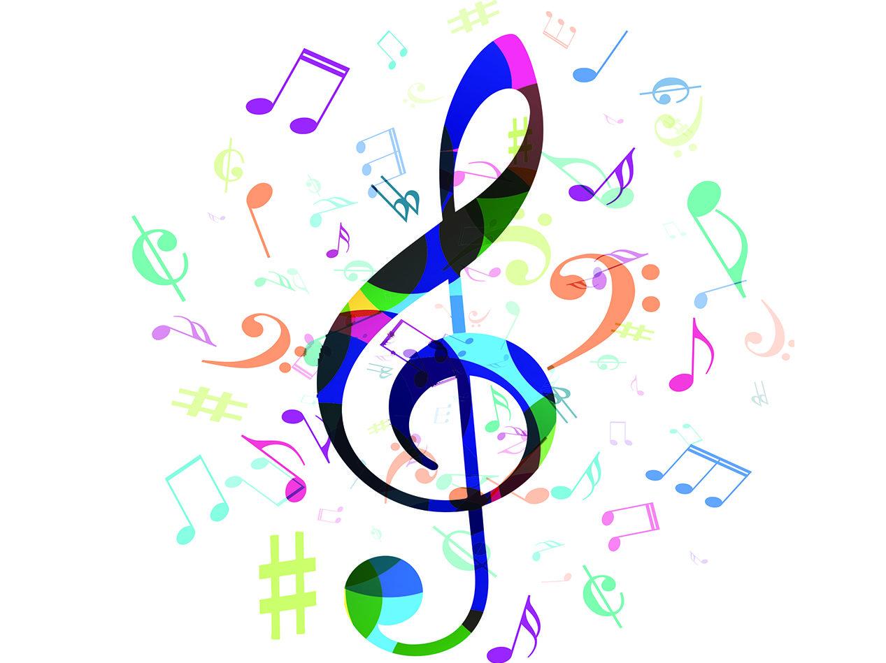 muzyka i nuty